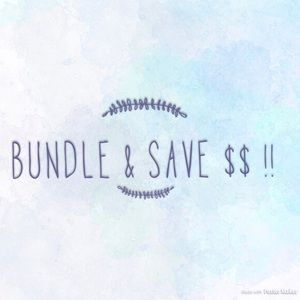 Other - Bundle anything & we can compromise!